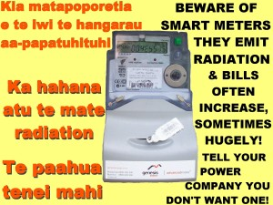 Smart meter poster Te Reo-English