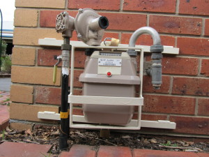 Final image of gas meter protection bracket