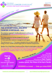 International Holistic Cancer Symposium to feature speaker on electromagnetic radiation and cancer